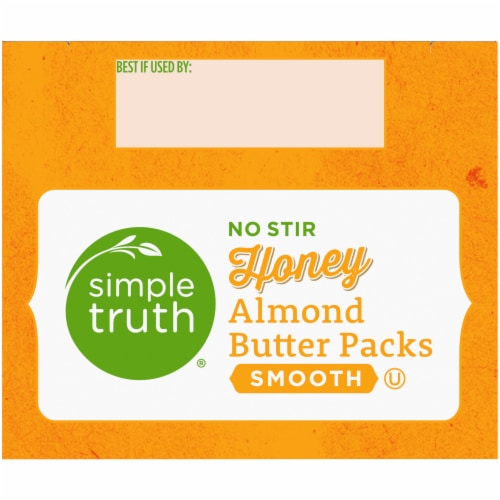 Simple Truth® Honey Almond Butter Pouch Perspective: top