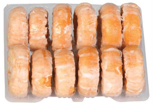 Bakery Fresh Goodness Sour Cream Donuts 12 Count Perspective: top