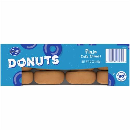 Kroger® Plain Cake Donuts Perspective: top