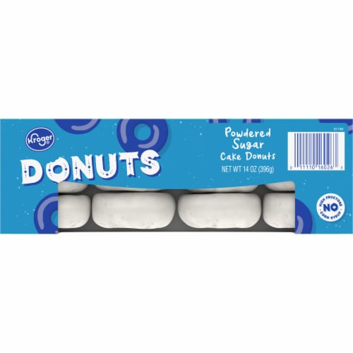 Kroger® Powdered Cake Donuts Perspective: top