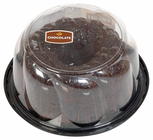 Bakery Fresh Goodness Chocolate Mini Pudding Cake Perspective: top