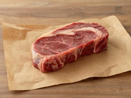 Simple Truth Organic™ Grass Fed Beef Ribeye Steak Perspective: top