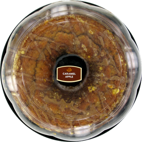 Bakery Fresh Goodness Caramel Apple Pudding Cake Perspective: top