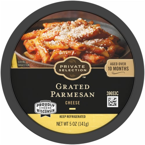 Private Selection™ Grated Parmesan Cheese Perspective: top