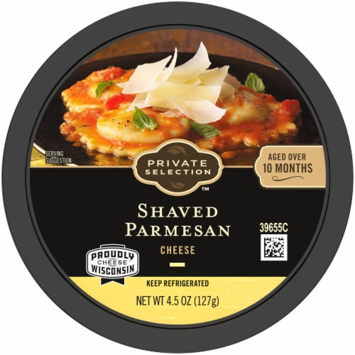 Private Selection™ Shaved Parmesan Cheese Perspective: top