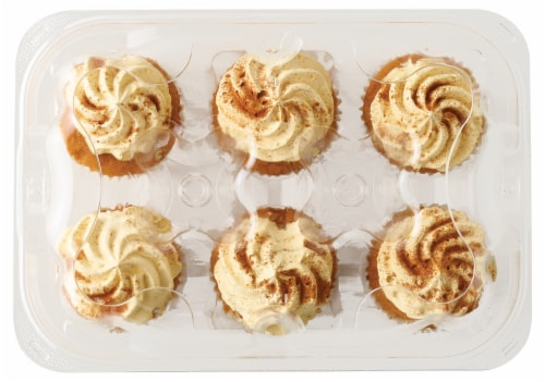 Bakery Fresh Goodness Pumpkin Whippy Cupcakes Perspective: top