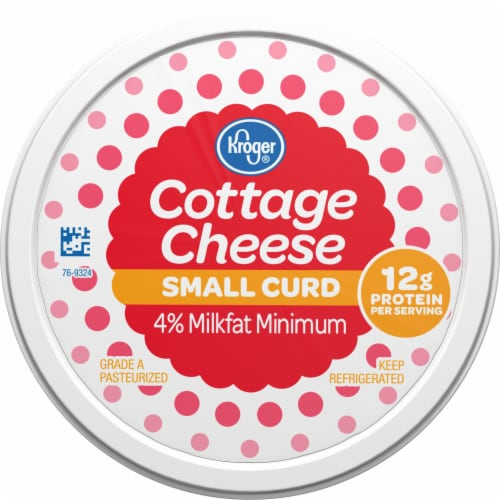 Kroger® 4% Milkfat Small Curd Cottage Cheese Perspective: top