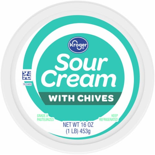 Kroger® Sour Cream with Chives Perspective: top