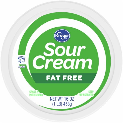 Kroger® Fat Free Sour Cream Perspective: top