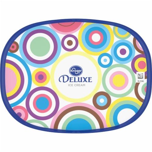 Kroger® Deluxe French Vanilla Magnifique Ice Cream Perspective: top