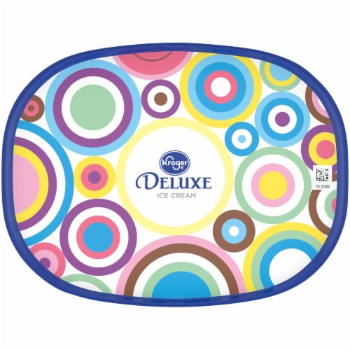 Kroger® Deluxe Orange Cream Ice Cream Perspective: top