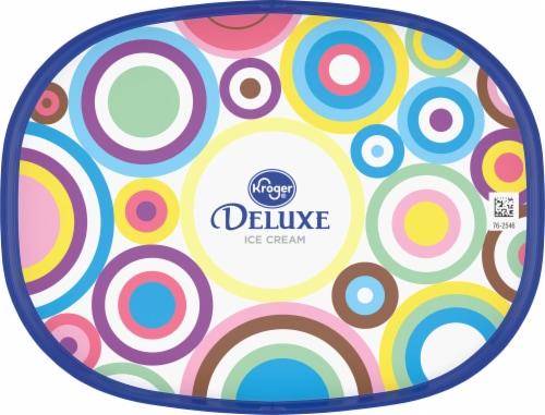Kroger® Deluxe Vividly Vanilla Ice Cream Perspective: top