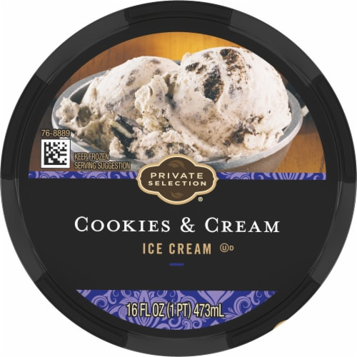 Private Selection® Cookies & Cream Ice Cream Perspective: top