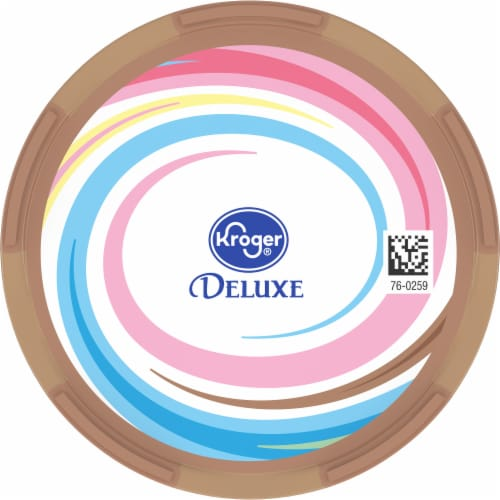 Kroger® Deluxe Jammed BabyRuth Caramel Candy Crunch Flavored Frozen Dairy Dessert Perspective: top