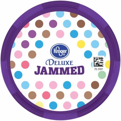 Kroger® Deluxe Jammed Butterfinger Peanut Butter Candy Crunch Frozen Dairy Dessert Perspective: top