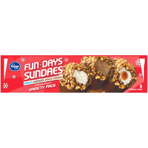 Kroger® Fun Days Sundaes Variety Pack Perspective: top