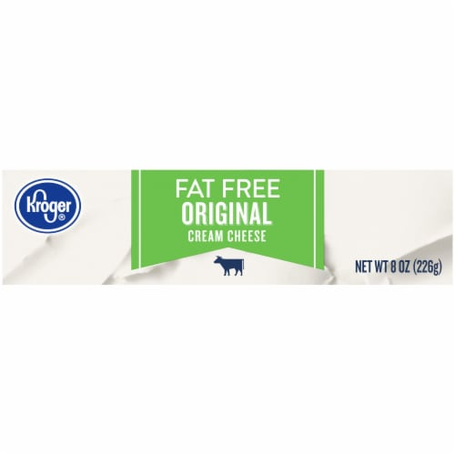 Kroger® Fat Free Original Cream Cheese Perspective: top