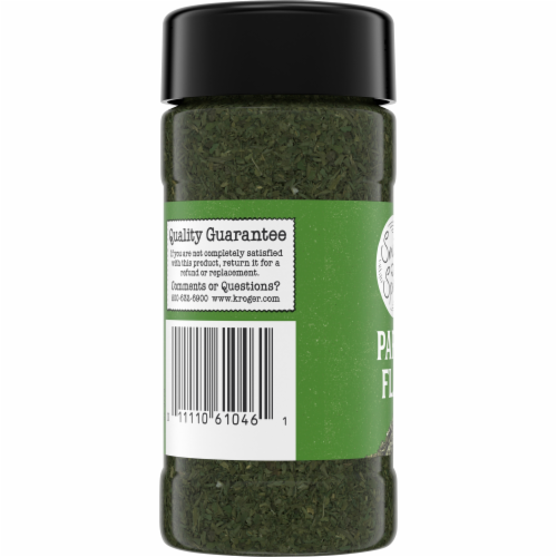 Smidge and Spoon™ Spices Parsley Flakes Perspective: top