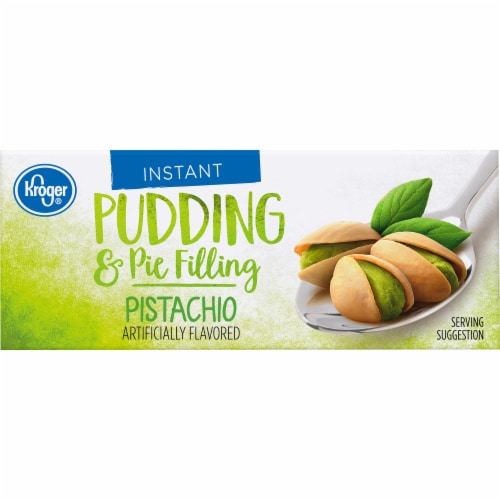 Kroger® Pistachio Instant Pudding & Pie Filling Perspective: top