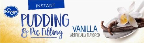 Kroger® Vanilla Instant Pudding & Pie Filling Perspective: top
