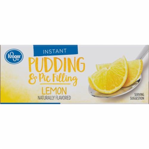 Kroger® Lemon Instant Pudding & Pie Filling Perspective: top