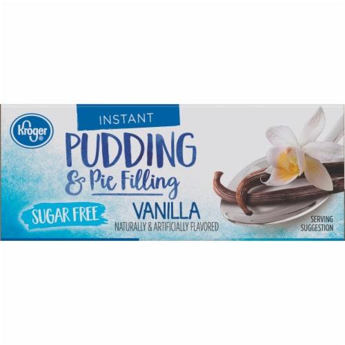 Kroger® Instant Sugar Free Vanilla Pudding & Pie Filling Perspective: top