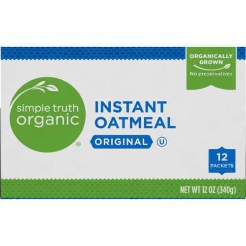 Simple Truth Organic® Original Instant Oatmeal Perspective: top