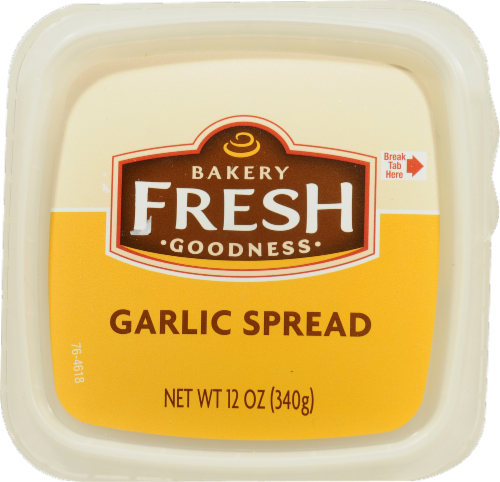 Bakery Fresh Goodness Garlic Spread Perspective: top