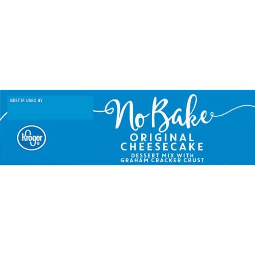 Kroger® Original No Bake Cheesecake Perspective: top