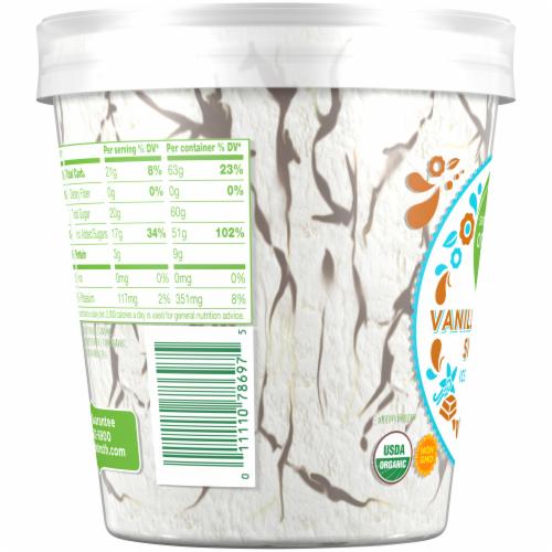 Simple Truth Organic™ Vanilla Fudge Swirl Ice Cream Perspective: top