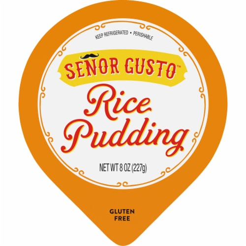 Senor Gusto Gluten Free Rice Pudding Perspective: top