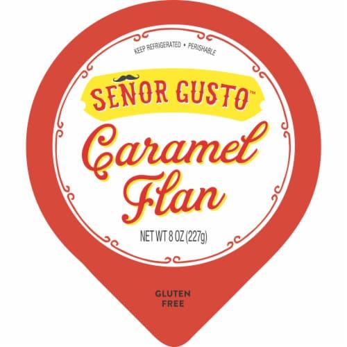 Senor Gusto™ Caramel Flan Perspective: top