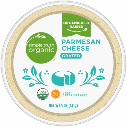 Simple Truth Organic® Grated Parmesan Cheese Perspective: top
