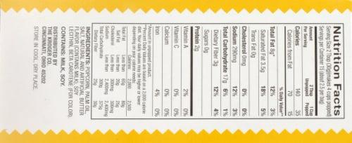 Kroger® Original Butter Gluten Free Microwave Popcorn Perspective: top