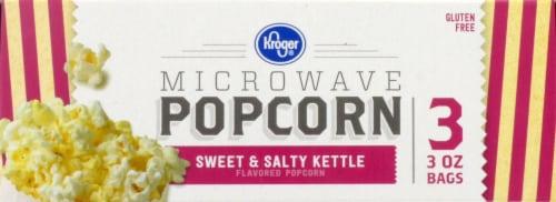 Kroger® Sweet & Salty Kettle Microwave Popcorn Perspective: top