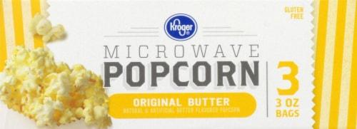 Kroger® Original Butter Microwave Popcorn Perspective: top
