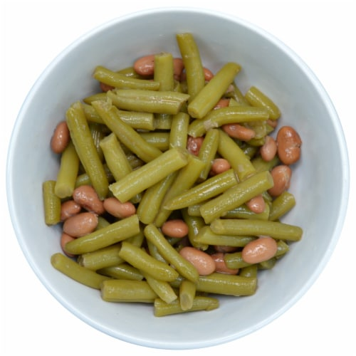 Kroger® Cut Green Beans with Pinto Beans Perspective: top