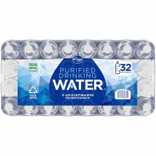 Kroger® Purified Drinking Water Perspective: top