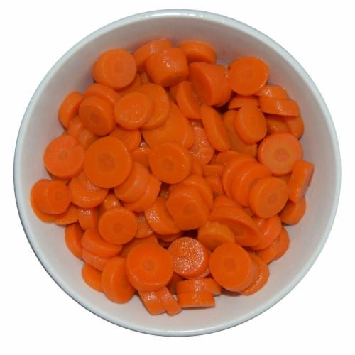 Kroger® No Salt Added Sliced Carrots Perspective: top