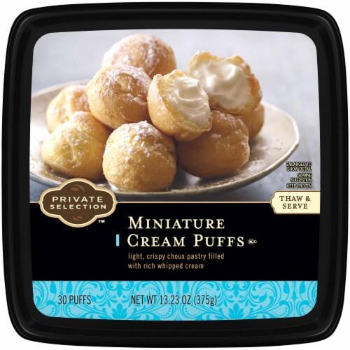 Private Selection™ Miniature Cream Puffs Perspective: top