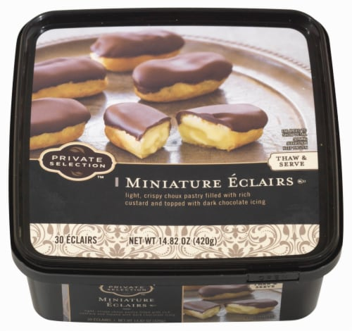 Private Selection™ Miniature Eclairs Perspective: top