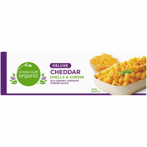 Simple Truth Organic® Deluxe Cheddar Shells & Cheese Perspective: top