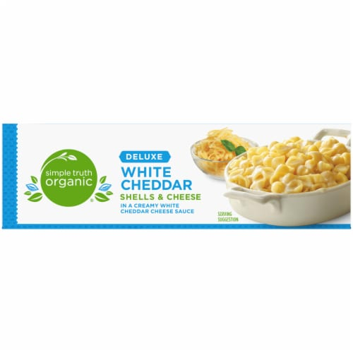 Simple Truth Organic® Deluxe White Cheddar Shells & Cheese Perspective: top