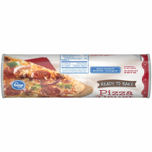 Kroger® Homestyle Ready to Bake Pizza Crust Perspective: top