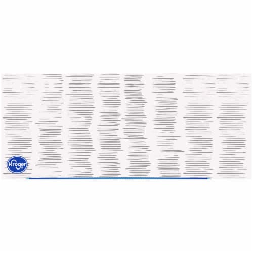 Kroger® White Unscented Facial Tissues Box Perspective: top