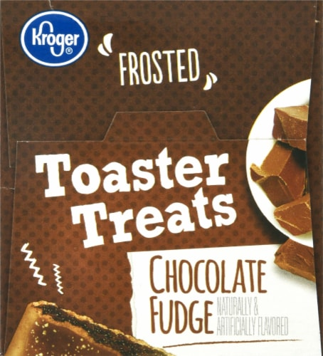 Kroger® Chocolate Fudge Frosted Toaster Treats Perspective: top