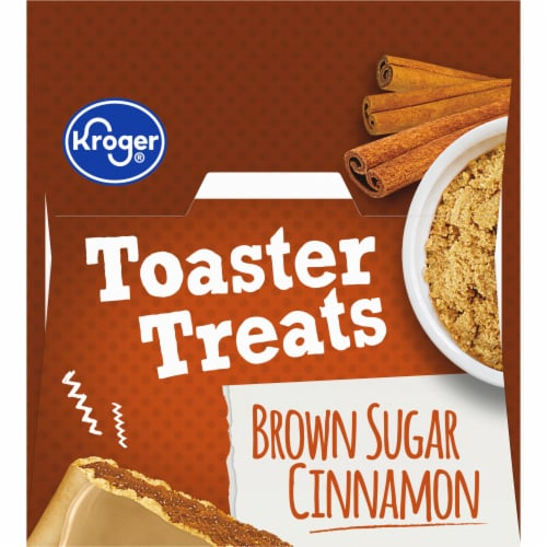 Kroger® Frosted Brown Sugar Cinnamon Toaster Treats Perspective: top
