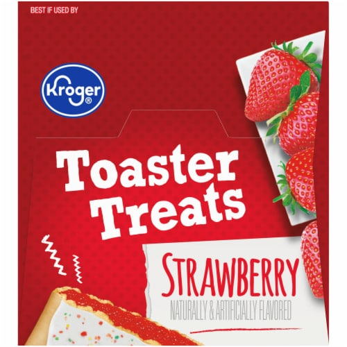 Kroger® Frosted Strawberry Toaster Treats Perspective: top