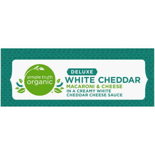 Simple Truth Organic® Thick & Creamy Deluxe White Cheddar Macaroni & Cheese Perspective: top