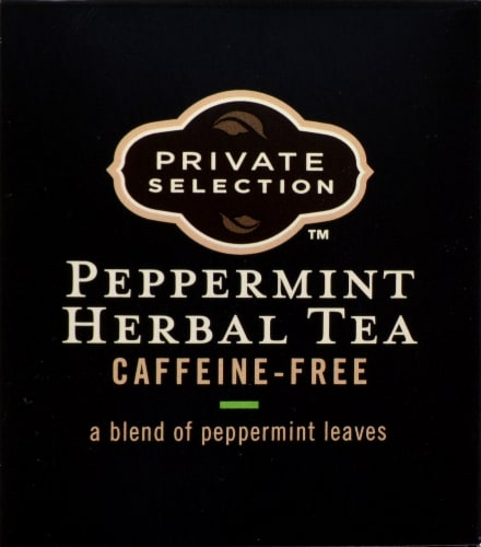 Private Selection™ Peppermint Herbal Tea Bags Perspective: top